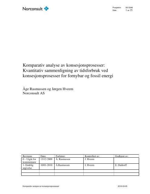 Les rapporten her - Energi Norge