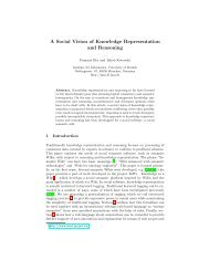 A Social Vision of Knowledge Representation and Reasoning