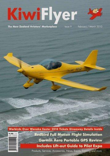 Redbird Full Motion Flight Simulation Garmin Aera ... - KiwiFlyer
