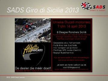 Giro di Sicilia 2013 - SADS