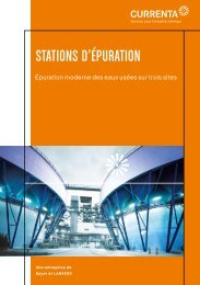 STATIONS D'ÉPURATION - Currenta