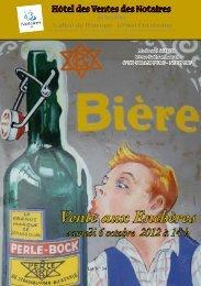Vente aux Enchères samedi 6 octobre 2012 à 14h - Strasbourg ...