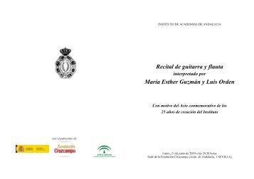 programa - Instituto de Academias de Andalucía