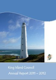 King Island Council Annual Report 2011-2012 (1921 kb)
