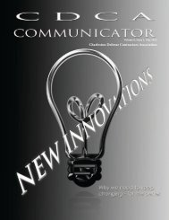 Communicator, Vol. 5, Spring 2012.pdf - Charleston Defense ...