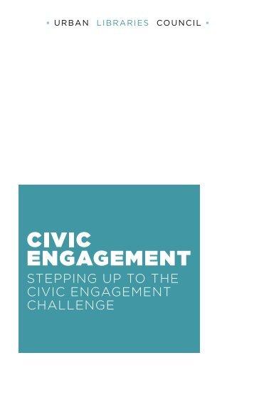 ULC Civic Engagement Report - WebJunction