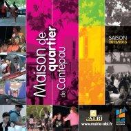 PROGRAMME 2012-2013.indd - Albi