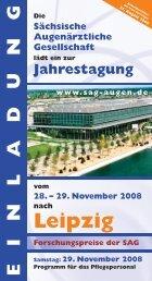 Zum Programm 2008 bitte hier klicken [PDF 2,4 MB ] - SAG