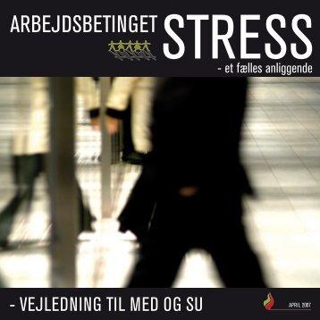 Arbejdsbetinget stress - Akademikernes Centralorganisation