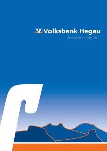 23 Geschäftsbericht 2011 - Volksbank eG