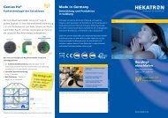 Genius Hx® Made in Germany - Hekatron