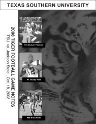 2008 TSU FB Game notes vs Jackson State.pdf - Texas Southern ...