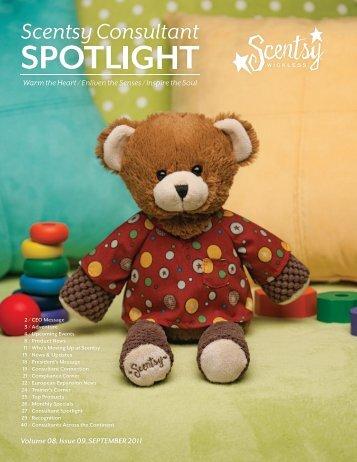 Volume 08, Issue 09, SEPTEMBER 2011 - Scentsy