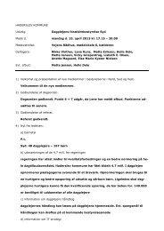 referat 15. april 2013 - Haderslev Kommunale Dagpleje