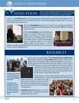 Newsletter Fall 2010 - Vatican Observatory - Page 6