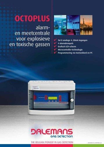 OCTOPLUS - Dalemans Gas Detection