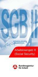 Arbeitslosengeld II (Social Security) - Bundesagentur für Arbeit