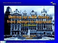 Setting up a BE Study: from design to approval - BEBAC ...