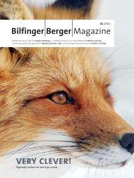 Bilfinger Berger Magazine - Issue 01 2012 - BIS ATG