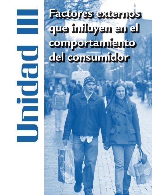 Factores externos que influyen en el comportamiento del consumidor