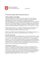 Preliminärt bokslut 2012 .pdf - Burlövs kommun