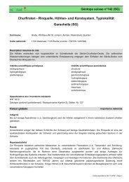Churfirsten - Rinquelle, Höhlen- und Karstsystem ... - admin.ch