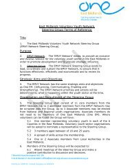 EMVY Network Steering Group Terms of Reference (February 2013)