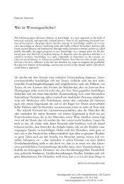 Was ist Wissensgeschichte? - Zentrum Geschichte des Wissens