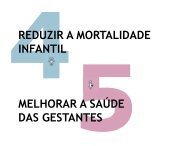 reduzir a mortalidade infantil melhorar a saúde das gestantes