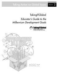 Educator's Guide to the Millennium Development Goals