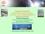 Dezentrale Energieversorgung am Beispiel Dänemarks Preben ...