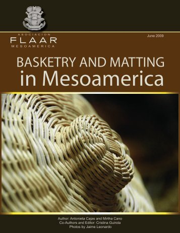 Basketry and matting in mesoamerica - Wide-format-printers.org