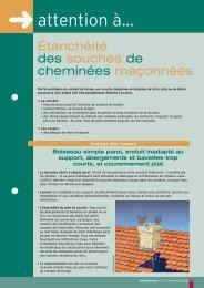 Étanchéité des souches de cheminées maçonnées - Agence Qualité ...
