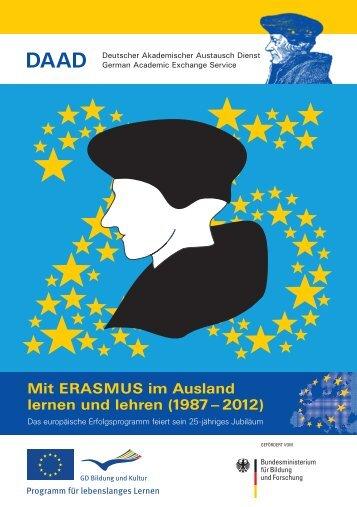 Mit ERASMUS im Ausland lernen und lehren (1987 – 2012) - DAAD