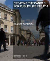 creating the canvas for public life in bath foreword introduction - City ID