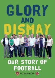 GLORY AND DISMAY - Scottish Book Trust