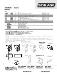 Schlage Catalog Residential - Top Notch Distributors, Inc. - Page 6