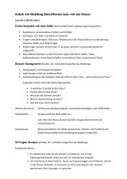 Arbeit Opfer-Klasse-weitere Methoden - Regionalpoint Bogen