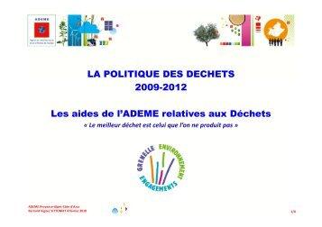 ADEME - Agence régionale pour l'environnement (ARPE)
