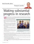 Investing in research for a brighter tomorrow - Société Canadienne ... - Page 4