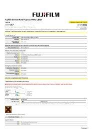 Chemwatch Australian MSDS 4667-10 - FUJIFILM Australia