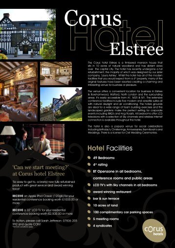Elstree - Corus Hotels