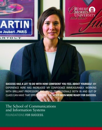 The School of Communications and Information Systems