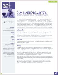ACL Case Study: CHAN Healthcare Auditors - Acl.com