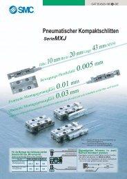 Pneumatischer Kompaktschlitten