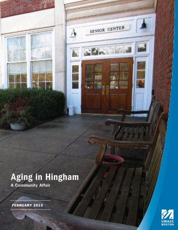 Aging in Hingham - Town of Hingham Massachusetts