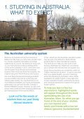 Studying in Australia: The Study Abroad Student's Guide to Success - Page 5