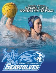 2011 Women's Water Polo Media Guide (.pdf) - Sonoma State ...
