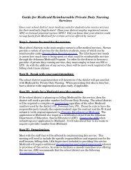 Guide for Medicaid Reimbursable Private Duty Nursing Services