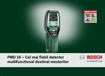 PMD 10 – Cel mai fiabil detector multifunctional ... - Shopexpert.ro